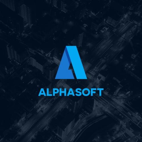 Alpha Soft Logo Design